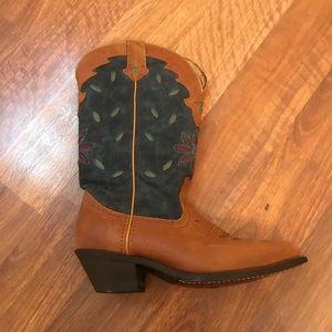 Laredo Western Boots-Manmade Materials